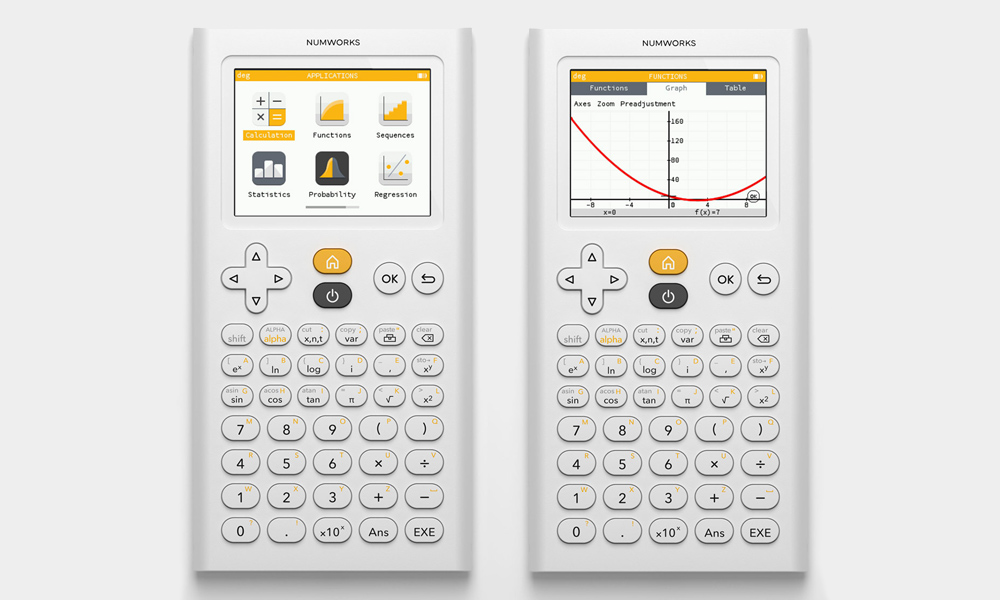 NumWorks-Graphing-Calculator